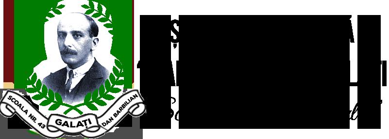 Scoala Gimnaziala Dan Barbilian Galati